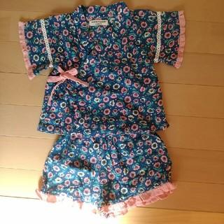 アンパサンド(ampersand)のMARUKO様専用!Ampersand 女の子 甚平 80サイズ(甚平/浴衣)