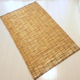 【美品】日本製 高級 すだれ(簾) 95×160cm 1枚(ロールスクリーン)