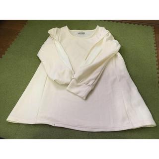 シマムラ(しまむら)の専用★アイボリー 授乳服(マタニティトップス)