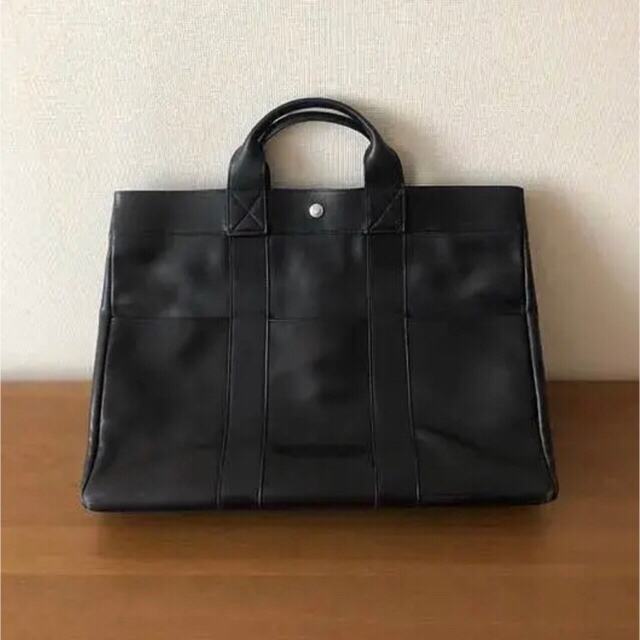 0a68cdaca0ea Hermes(エルメス)の エルメス HERMES フールトゥMM オールレザー 黒 メンズのバッグ(