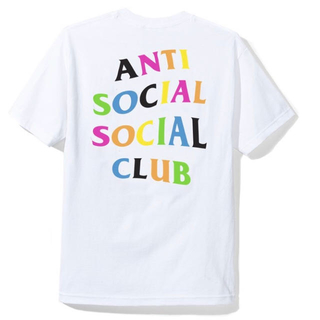 アンチ(ANTI)のANTI SOCIAL  Rainy Dayz White Tee /L(Tシャツ/カットソー(半袖/袖なし))