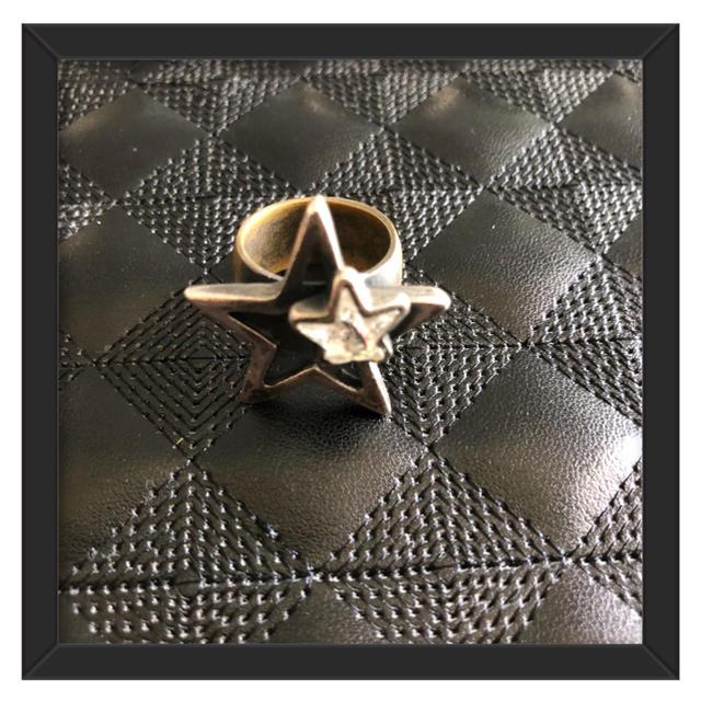 IOSSELLIANI(イオッセリアーニ)の最終お値下げ★iosseliani 星型リング★ イオッセリアーニ レディースのアクセサリー(リング(指輪))の商品写真