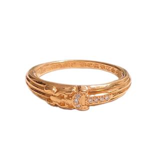 クロムハーツ(Chrome Hearts)のクロムハーツ 22k ベビークラシック リング ダガー ダイヤモンド 美品(リング(指輪))