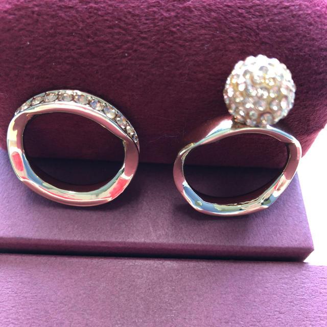 スカーフリング 2個まとめて レディースのアクセサリー(リング(指輪))の商品写真