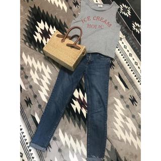 シェル(Cher)のcher購入スエットノースリーブトップス(カットソー(半袖/袖なし))