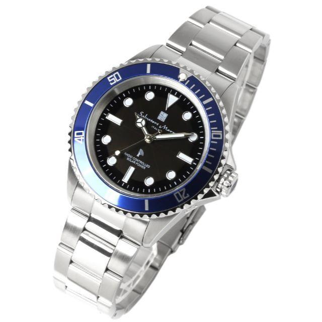 1c87fc7832 Salvatore Marra(サルバトーレマーラ)のソーラー 電波 腕時計 ダイバーズモデル サルバトーレマーラ メンズの