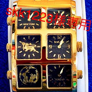 アヴァランチ(AVALANCHE)のICE LINK アイスリンク ジェネレーション ビッグケース(腕時計(アナログ))