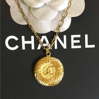 16235eccabdf シャネル(CHANEL)の正規品 シャネル ネックレス ゴールド ココマーク ヴィンテージ チェーン 2(