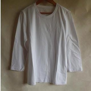 MUJI (無印良品) - 無印良品 七分袖Tシャツ