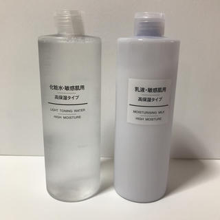 ムジルシリョウヒン(MUJI (無印良品))の無印 敏感肌用 高保湿 化粧水・乳液 400ml(化粧水 / ローション)