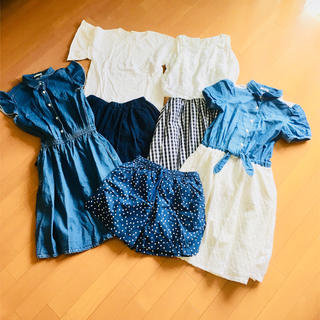 ジーユー(GU)の子供服セット 女の子用(その他)