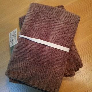 MUJI (無印良品) - 無印良品 綿シェニール クッション カバー 43×43cm用 カバー RB 2枚
