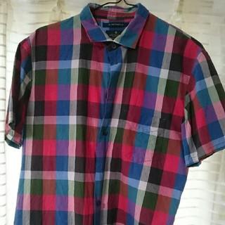 アールニューボールド(R.NEWBOLD)のチェックシャツ(シャツ)