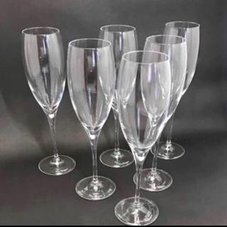 ドンペリニヨン(Dom Pérignon)の2セット【新品】シャンパングラスセット 6脚 ドンペリ ブーブクリコ モエ(グラス/カップ)