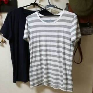 ムジルシリョウヒン(MUJI (無印良品))の二枚Tシャツ(Tシャツ(半袖/袖なし))