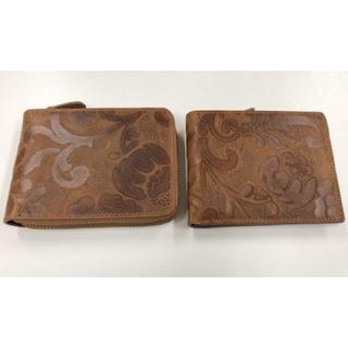 花柄財布 2点セット 新品(折り財布)