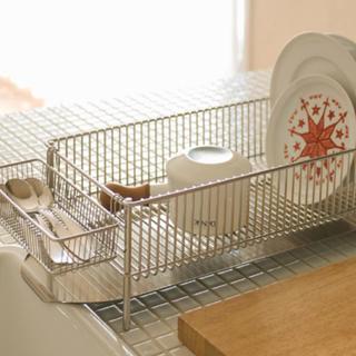 la base有元葉子のラバーゼ 水切りセット 横置きスリム(収納/キッチン雑貨)