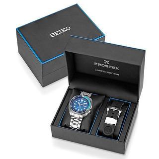 セイコー(SEIKO)のセイコーダイバー 自動巻き SRPB11K1 ブルーラグーン 世界限定品(腕時計(アナログ))