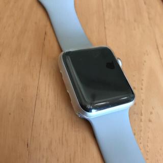 アップルウォッチ(Apple Watch)のApple Watch series3 GPSモデル 42mm(スマートフォン本体)