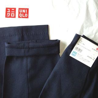 ユニクロ(UNIQLO)の【未使用品】 ユニクロ 感動パンツ ウールライク(スラックス)