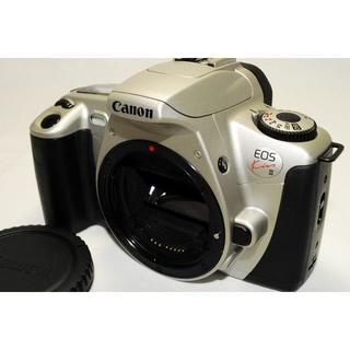 キヤノン(Canon)の美品!【EOS kiss III】シルバーボディ/CANON(フィルムカメラ)