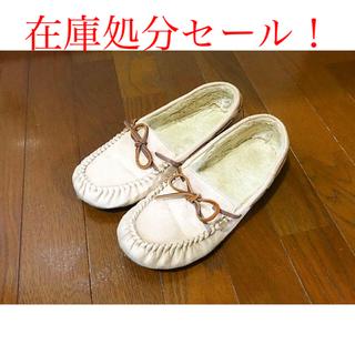 ジーユー(GU)の送料無料/美品/GU/靴/モカシンシューズ(スリッポン/モカシン)