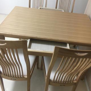 オオツカカグ(大塚家具)の大塚家具 テーブル 椅子5点セット(ダイニングテーブル)