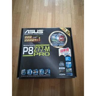 エイスース(ASUS)のASUS P8Z77-M PRO  MicroATX(PCパーツ)