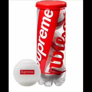 シュプリーム(Supreme)のSupreme テニスボール  18ss ステッカー付き マフラー(ボール)
