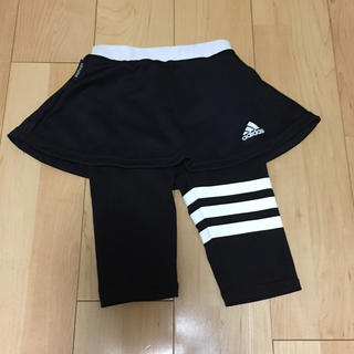 アディダス(adidas)の120cm アディダス 女の子用スポーツウェア(スカッツ)(スカート)
