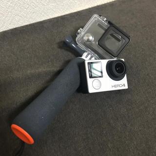 ゴープロ(GoPro)の中古 GoPro HERO4 silver 本体+ケース(コンパクトデジタルカメラ)