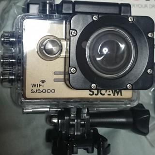 ゴープロ(GoPro)の【未使用に近い】SJCAM SJ5000 wifi HD アクションカメラ(コンパクトデジタルカメラ)
