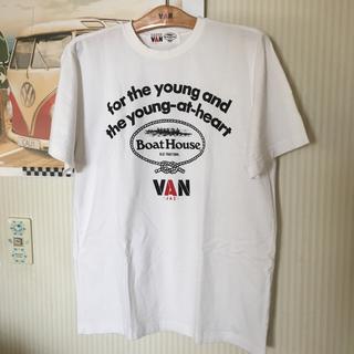ヴァンヂャケット(VAN Jacket)のVAN x Boat HouseコラボTシャツM(Tシャツ/カットソー(半袖/袖なし))