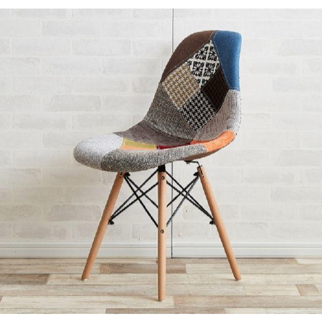 EAMES(イームズ)のイームズ パッチワーク チェア Eames patchwork DSW インテリア/住まい/日用品の椅子/チェア(その他)の商品写真