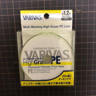 VARIVAS  ハイグレードPE  1.2号 150m(釣り糸/ライン)