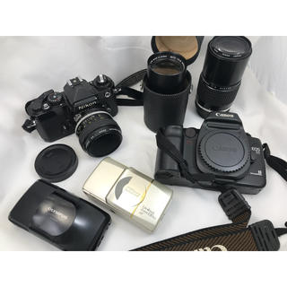 オリンパス(OLYMPUS)のCanon EOS55 Nikon オリンパス ミノルタ 一眼レフ 交換レンズ(フィルムカメラ)