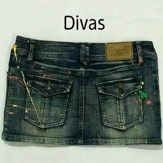 ディーバス(DIVAS)のハルまま様おまとめ★  S: ストレッチ デニム スカート/ Divas ラスタ(ミニスカート)