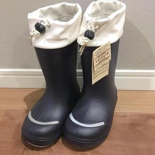 ムジルシリョウヒン(MUJI (無印良品))の無印キッズレインシューズ未使用品(長靴/レインシューズ)
