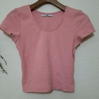 スライ(SLY)のSLY♡リブTシャツ(Tシャツ(半袖/袖なし))