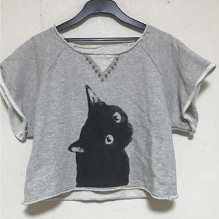 ムルーア(MURUA)のMURUA Tシャツ 猫 カットソー(Tシャツ(半袖/袖なし))