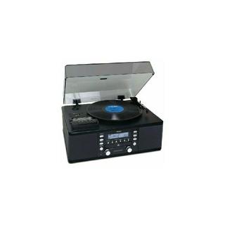 ターンテーブル&カセットプレーヤー付CDレコーダー LP-R550USB(ターンテーブル)