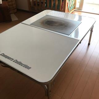 キャンパーズコレクション(Campers Collection)のレジャーキャンプ囲炉裏テーブル2タイプ(テーブル/チェア)