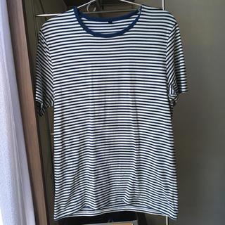 ムジルシリョウヒン(MUJI (無印良品))のMUJI☆ボーダーシャツ(Tシャツ/カットソー(半袖/袖なし))