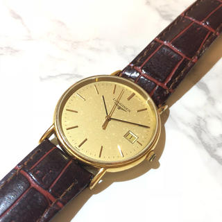 ロンジン(LONGINES)のY! 【LONGINES】 L4.636.2  クオーツ時計 WH-915(腕時計(アナログ))