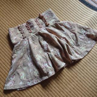 リズリサ(LIZ LISA)のローズ柄ミニスカート(ミニスカート)