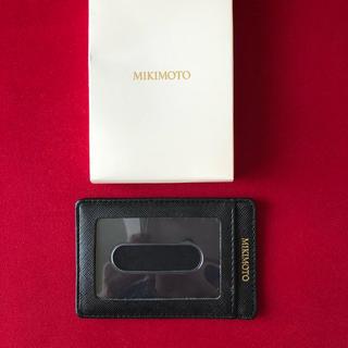 ミキモト(MIKIMOTO)のMIKIMOTOパスケース 新品(名刺入れ/定期入れ)