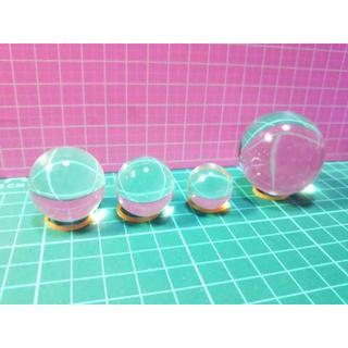 インスタ映え パワーストーン クラス A 溶錬加工品 普通精度 新品 40mm(置物)