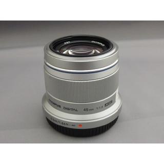 オリンパス(OLYMPUS)のオリンパス45mmF1.8(レンズ(単焦点))