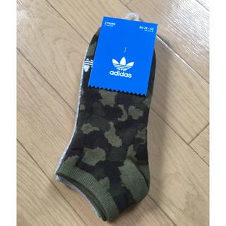 アディダス(adidas)のadidas 24〜26センチスニーカーソックス新品未使用タグ付き!(ソックス)