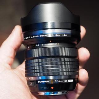 オリンパス(OLYMPUS)のoby様 専用M.ZUIKO DIGITAL ED 7-14mm F2.8 (レンズ(単焦点))